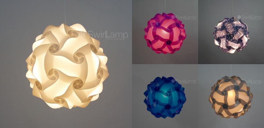 swirlamp collage