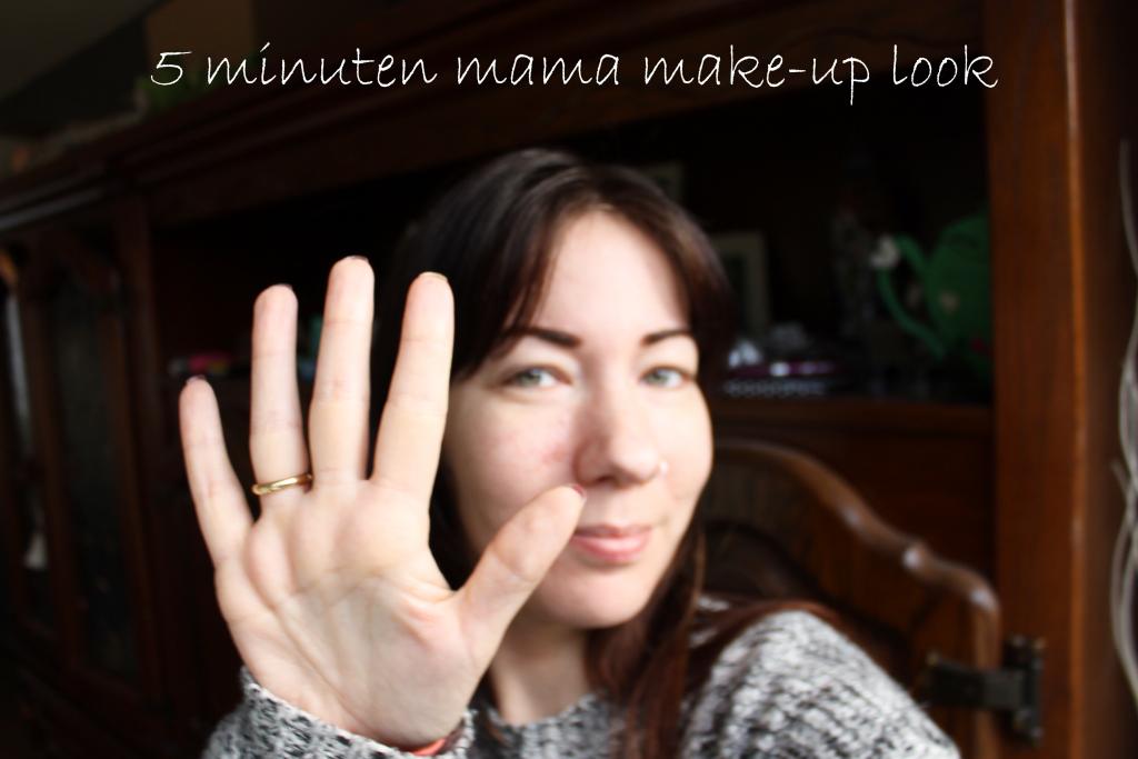 5 Minuten Mama Make-Up Look