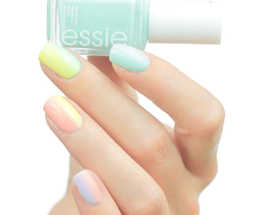 Nail Art Rainbow 5