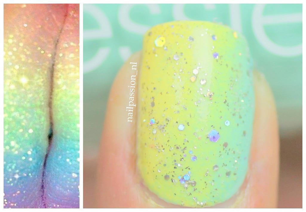 Nail Art Rainbow 4