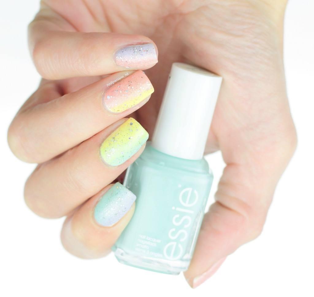 Nail Art Rainbow 3