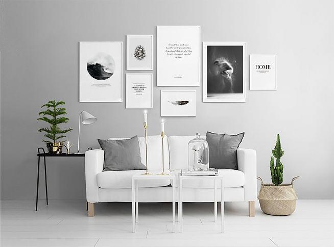 Leuke Posters Woonkamer : Versier je woonkamer met scandinavische posters jamey