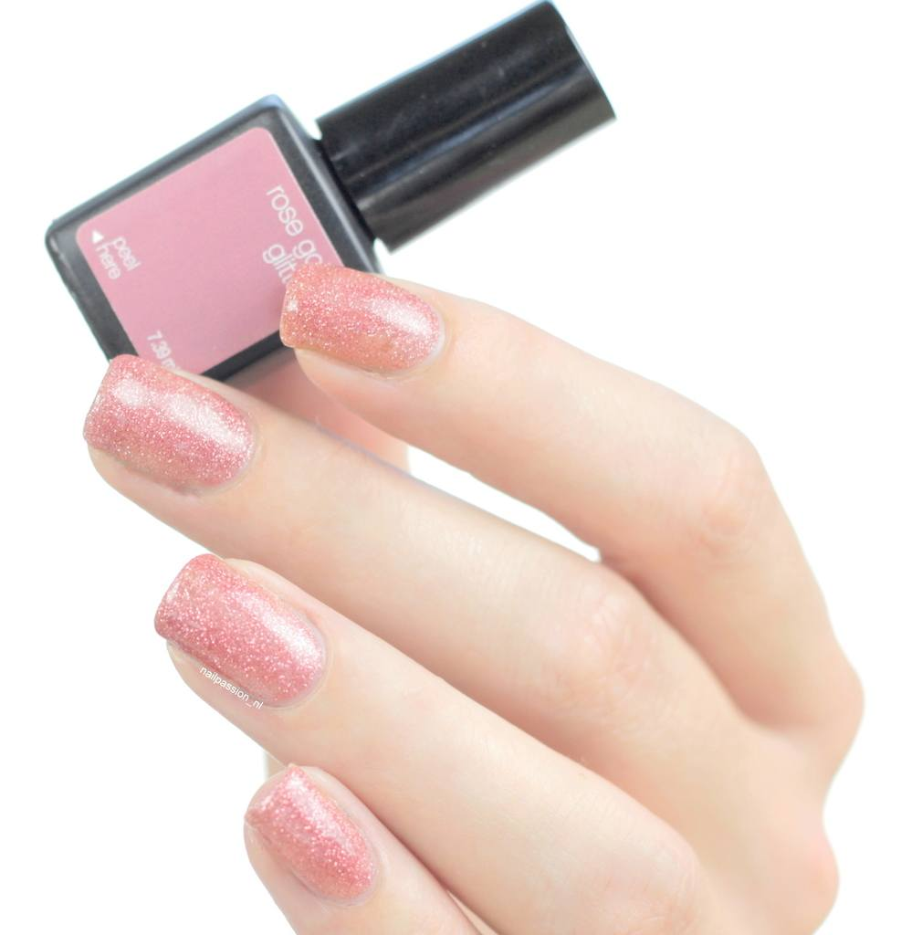 Sensationail Pink Sand, Rose Gold Glitter, Vanilla Chai & Jade Treasure