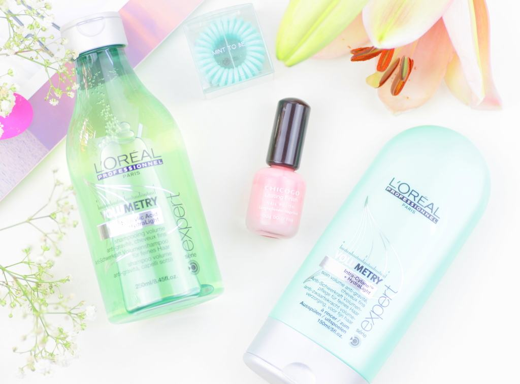 Barberstore | The Invisibobble The Traceless Hair Ring, L'Oreal Professionnel Expert Volumetry Shampoo & Conditioner