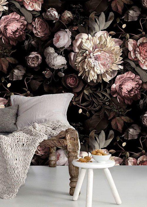 mooi-bloemetjes-behang