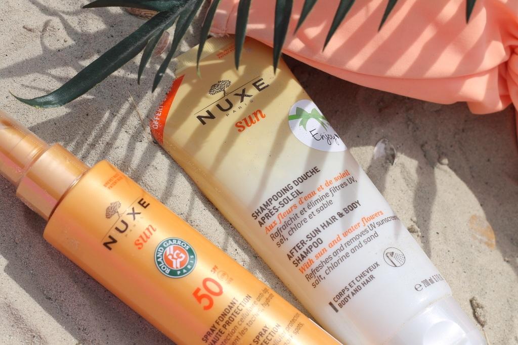 NUXE Sun Spray Fondant SPF50 & After-Sun Hair & Body