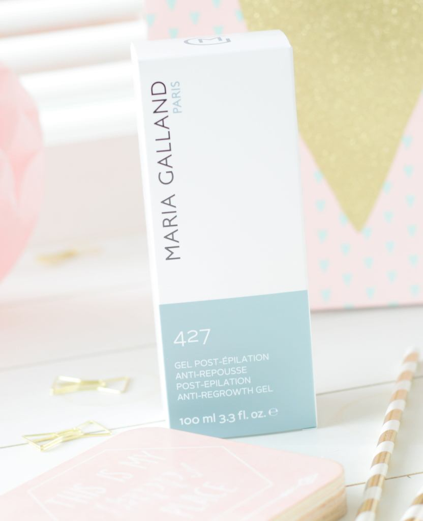 Review Maria Galland Gel Post-Épilation Anti-Repousse