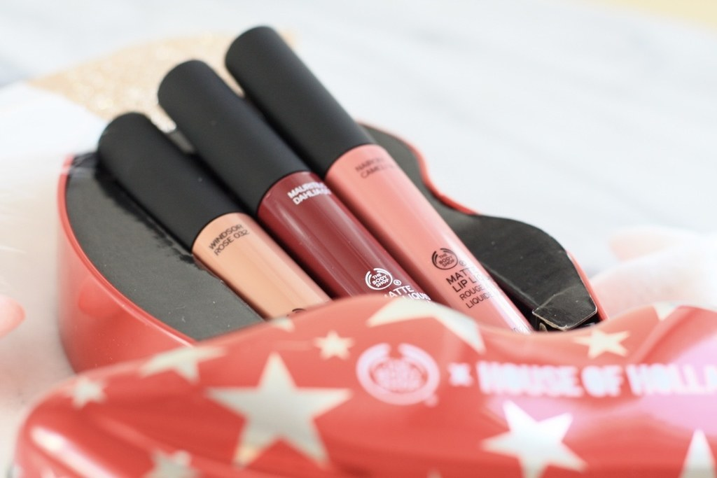 The Body Shop X House Of Holland Limited Edition cadeauset Matte Lip Liquids