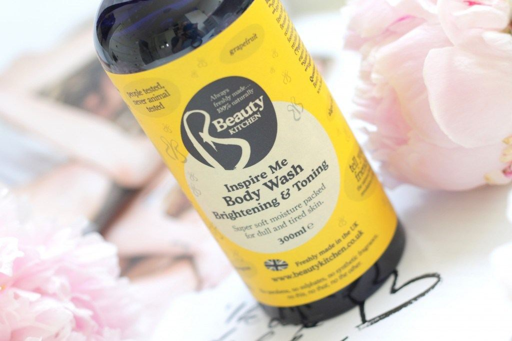 Beauty Kitchen Inspire Me Brightening & Toning Body Wash