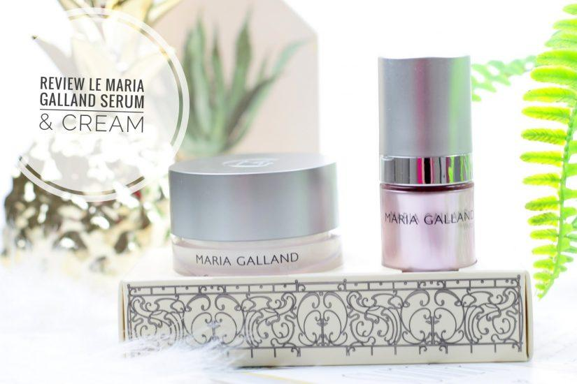 LE Maria Galland Serum & Cream