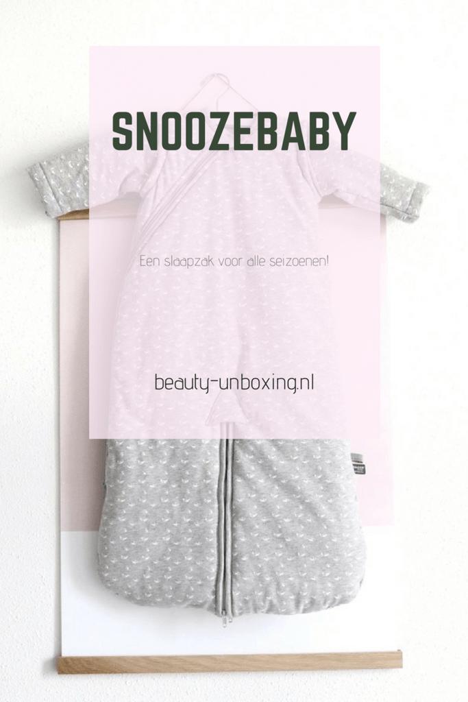 Snoozebaby - een slaapzak voor alle seizoenen!