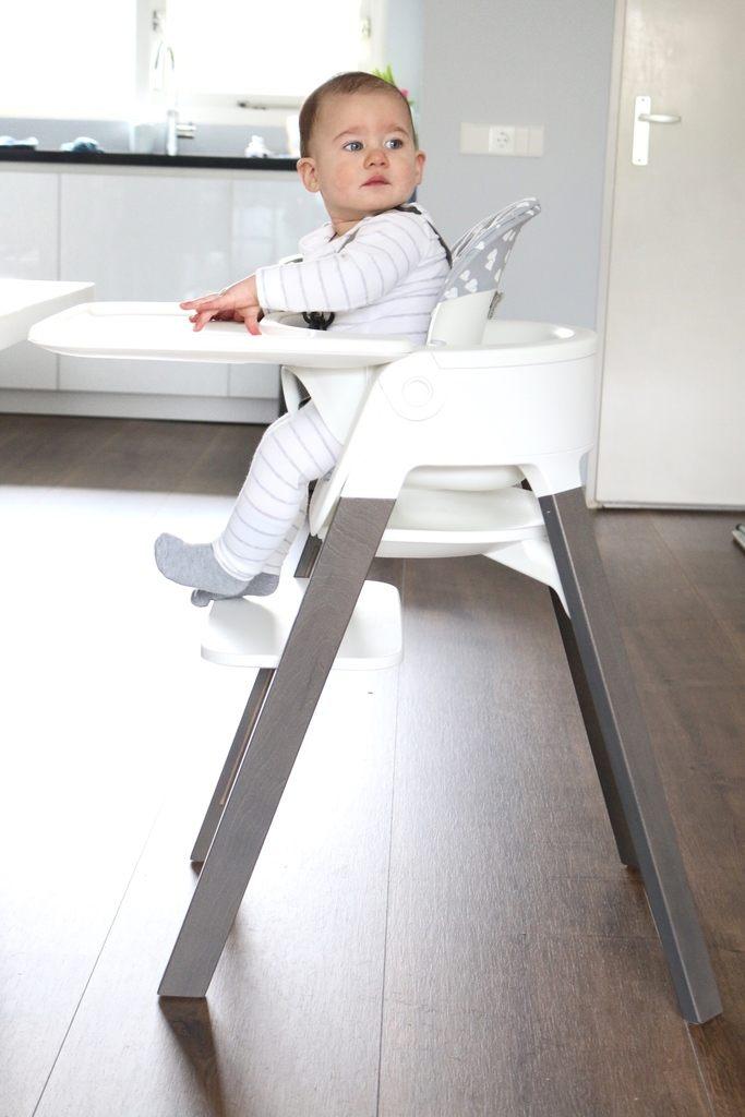Zitstoel Voor Baby.Stokke Steps Een Moderne Kinderstoel Voor Baby En Kindje Jamey