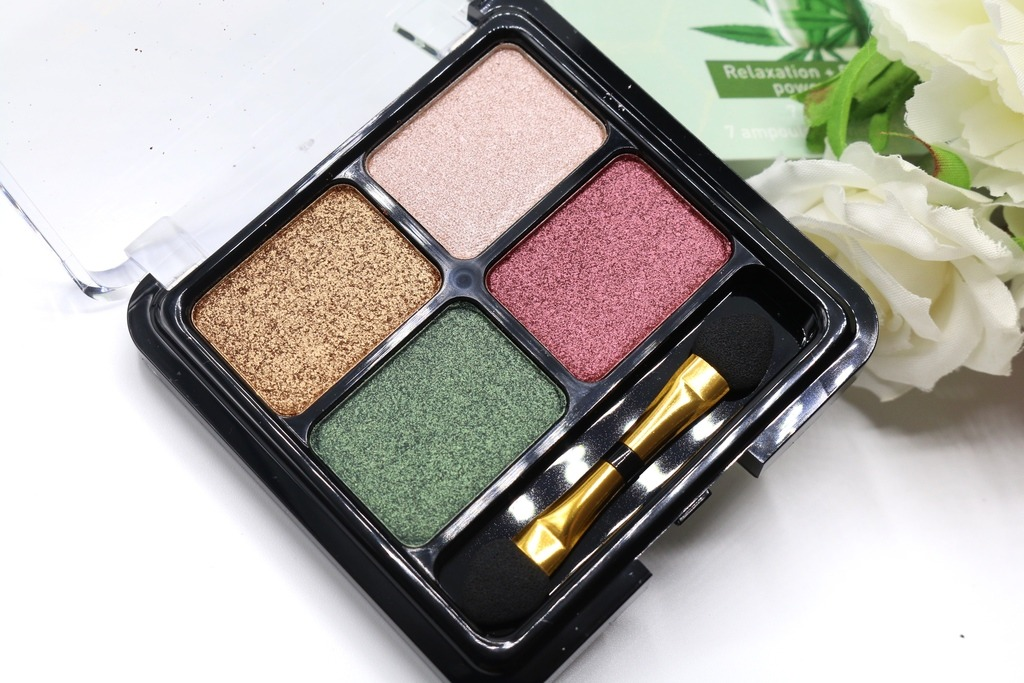 Christian Faye - Quattro Eyeshadow Green pallet