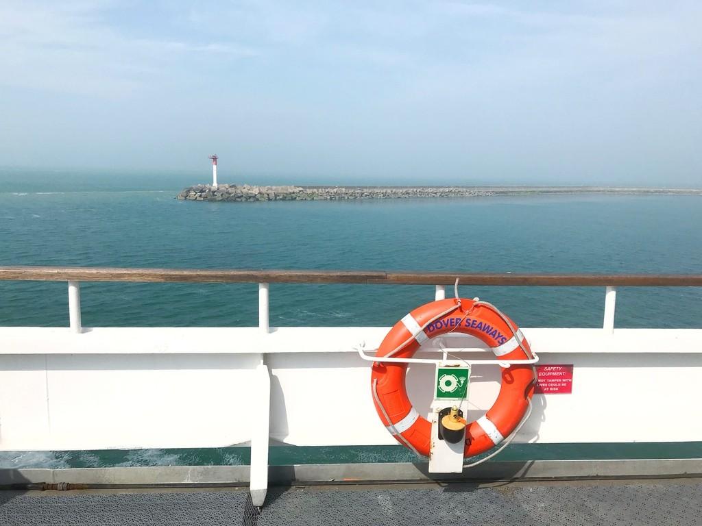 Met de Ferry van DFDS naar Londen!