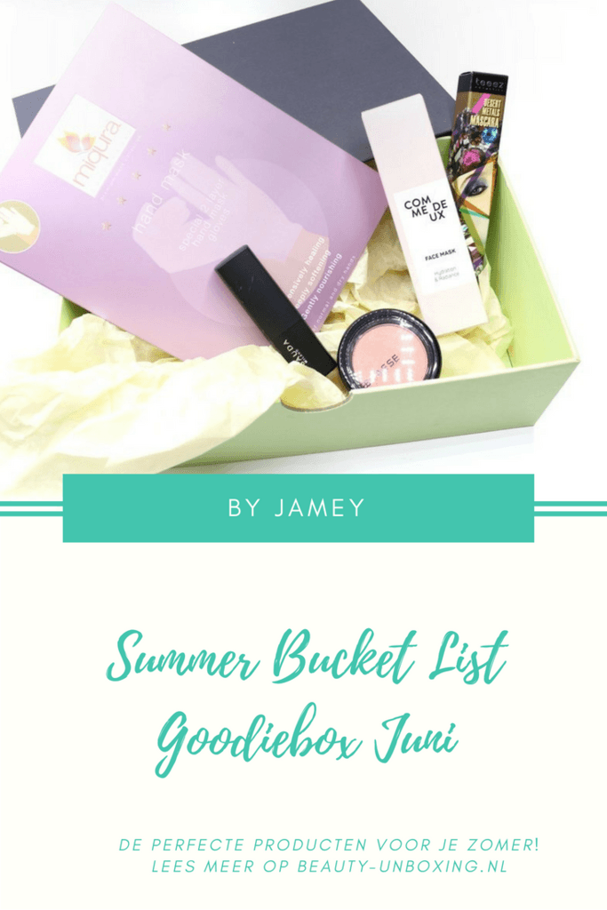 Summer Bucket List - Goodiebox Juni