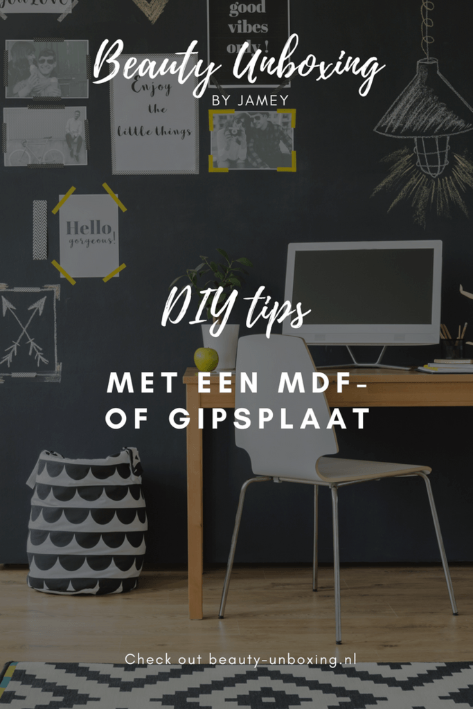 DIY tips met een MDF- of gipsplaat