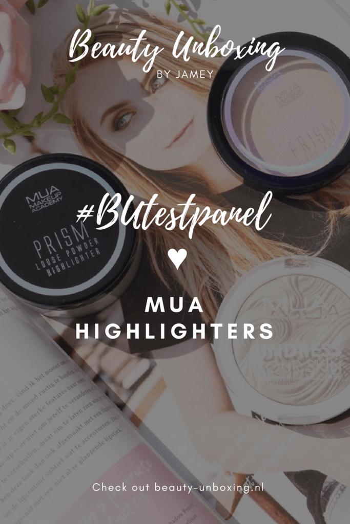 MUA highlighters 22