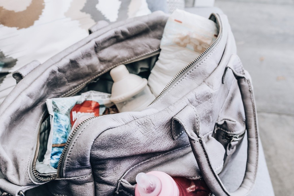 What's in my bag; de luiertas editie!