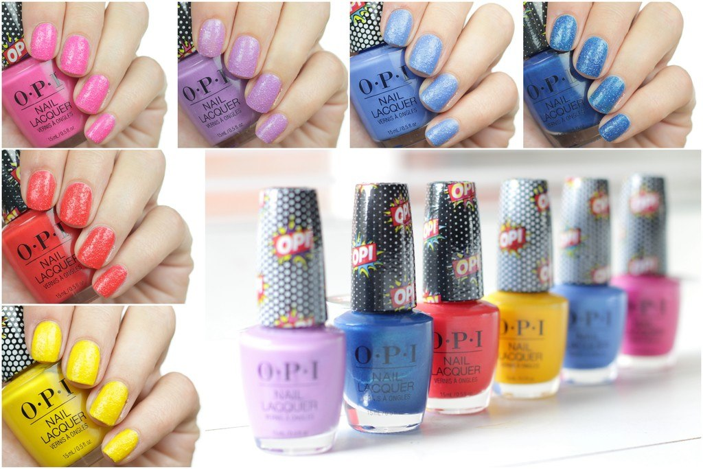Swatches | LE OPI Pop Culture Collection