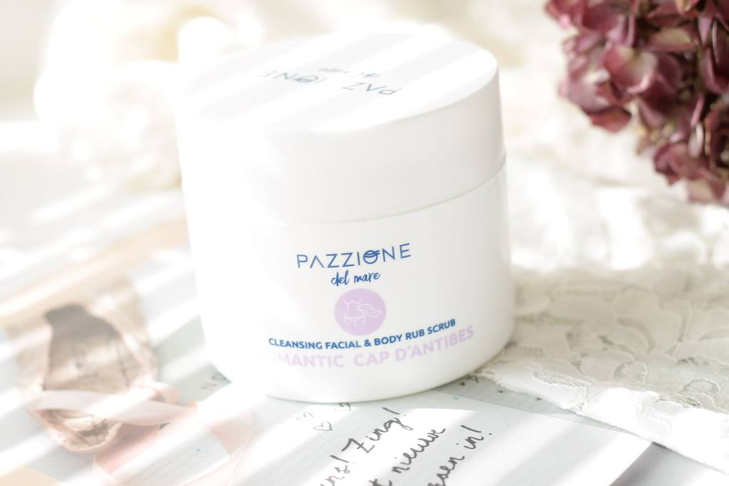 Pazzione Romantic Cap D'antibes Scrub & Shower Gel