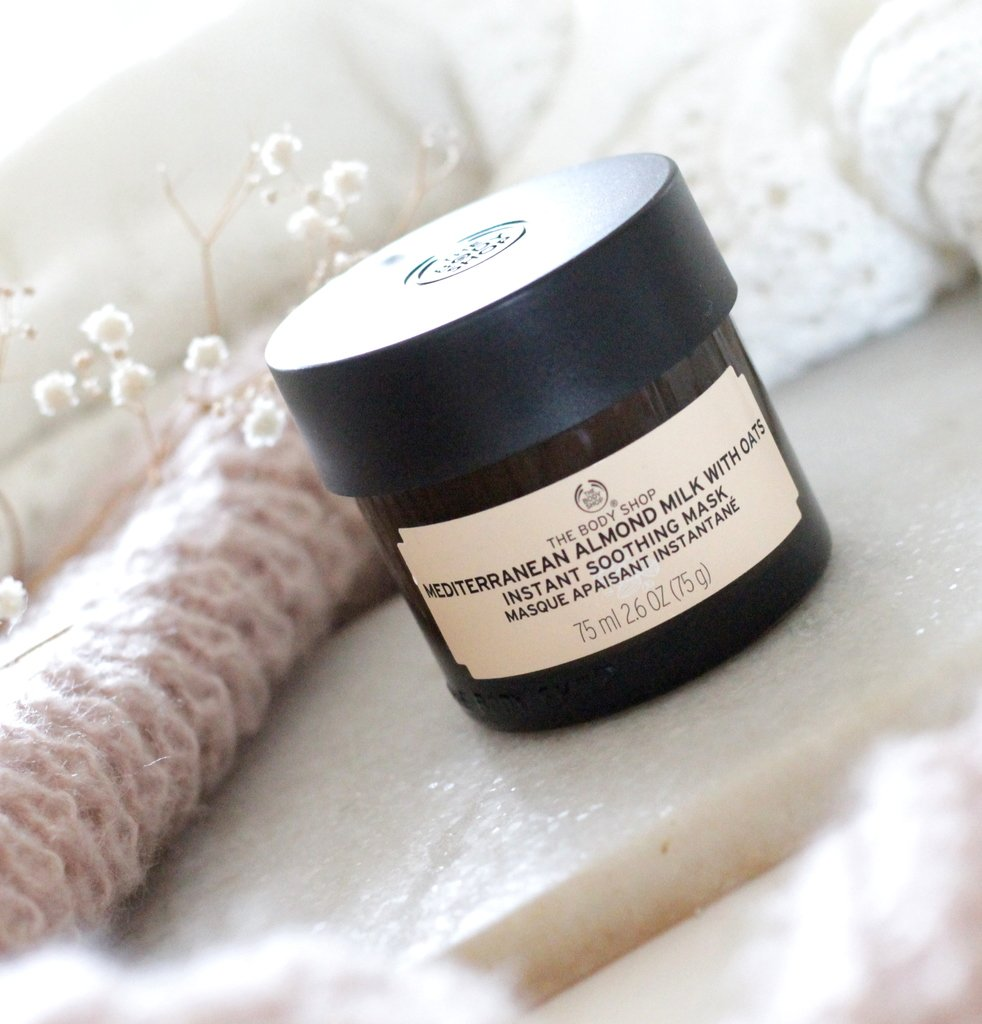 The Body Shop Mediterranean Almond Milk With Oats Instant Soothing Mask