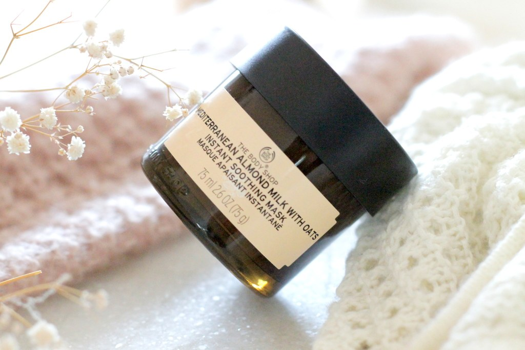 Review | The Body Shop Mediterranean Almond Milk With Oats Instant Soothing Mask