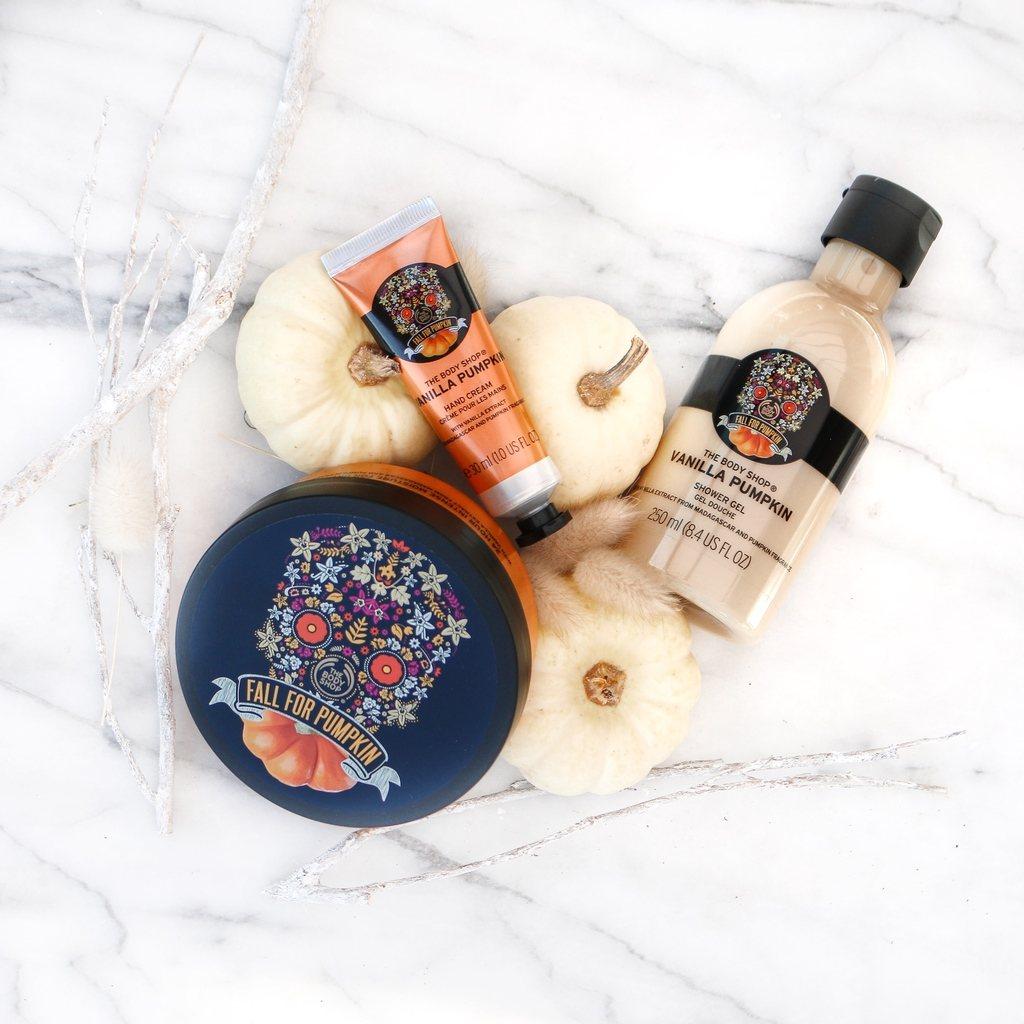 Halloween Bloghop - The Body Shop Vanilla Pumpkin