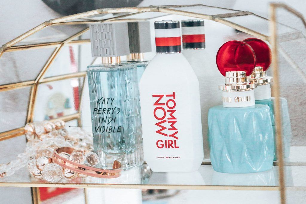 Parfum Heaven - Tommy Now Girl, Katy Perry en Miu Miu