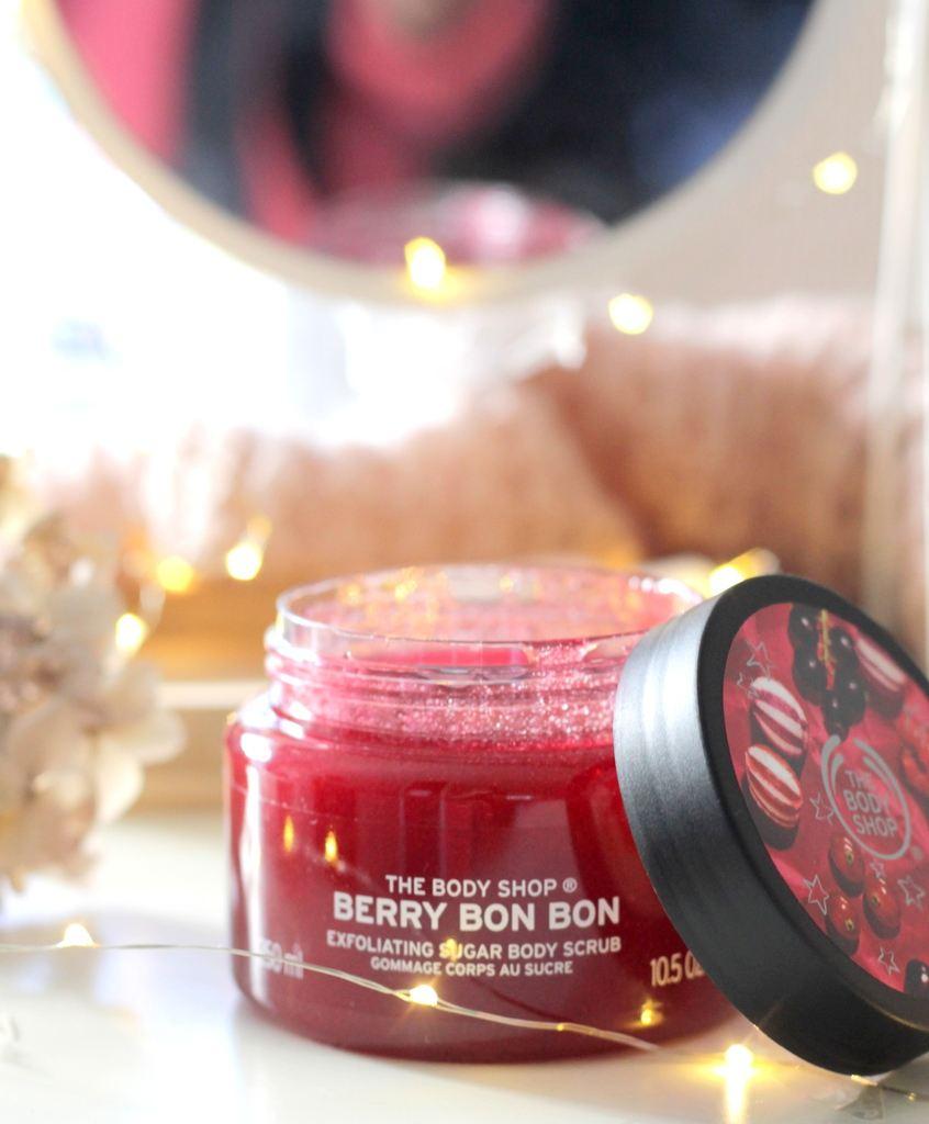 The Body Shop Berry Bon Bon Scrub