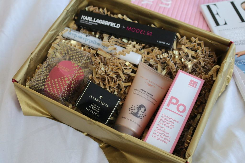 Lookfantastic Beauty Box December - The Christmas edition!