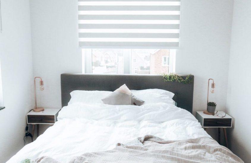 Raamdecoratie van Veneta slaapkamer