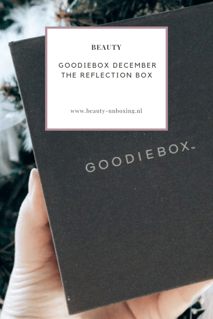 Goodiebox December - The Reflection Box