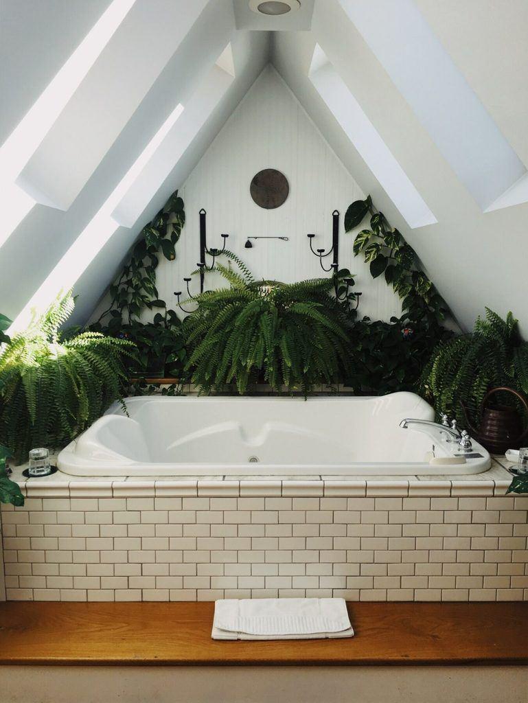 Van een badkamer tot een stukje hemel!