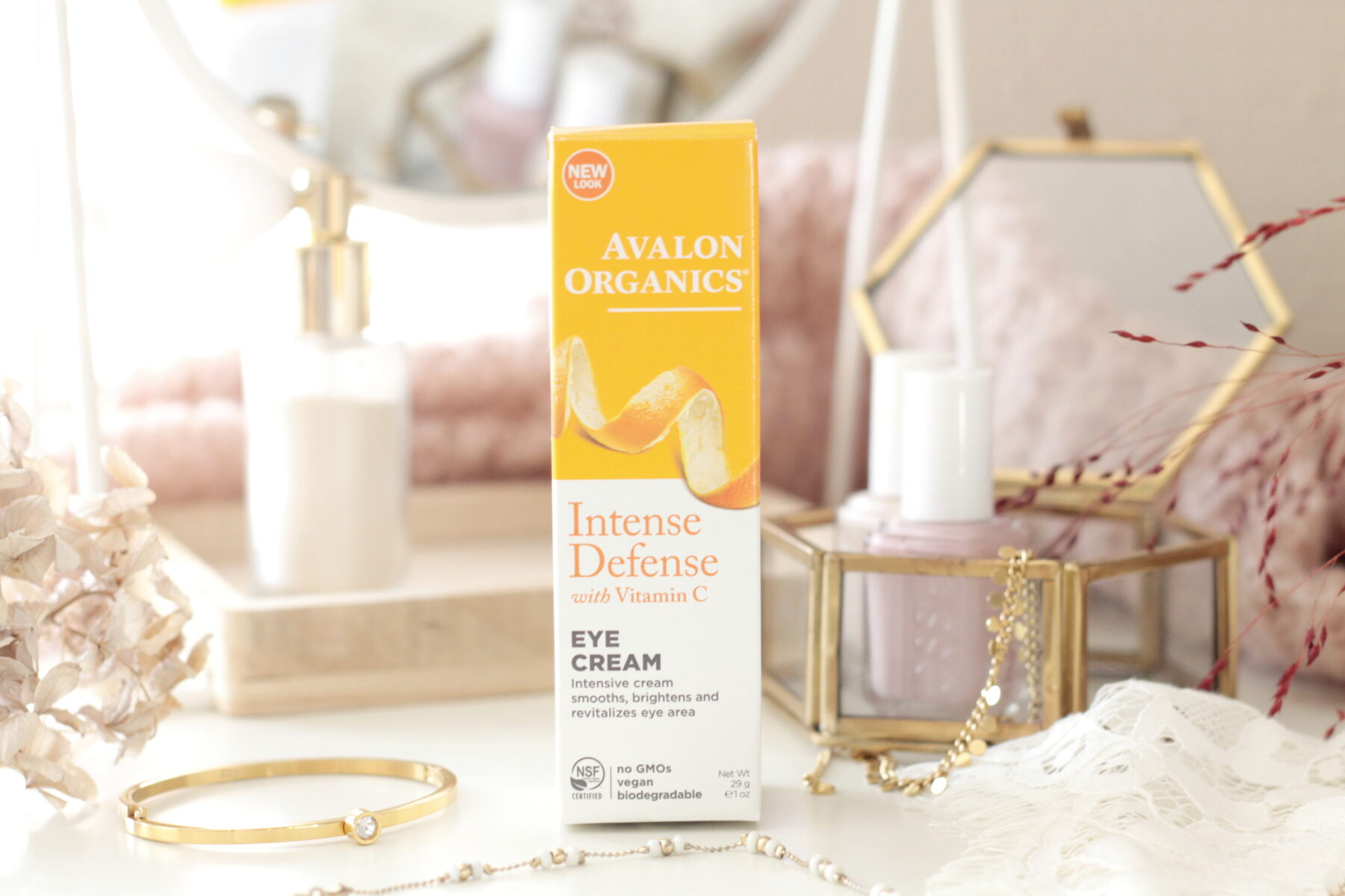 Avalon Organics Vitamine C Revitaliserende Oogcrème