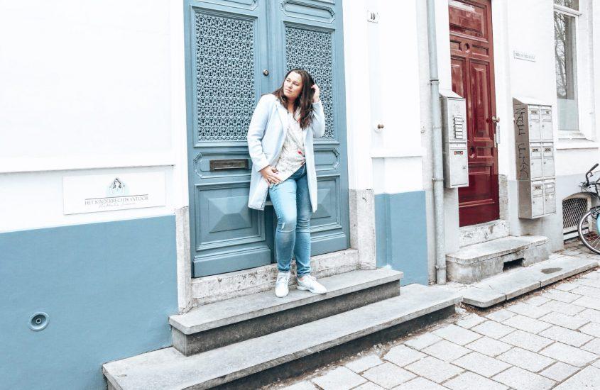 lente outfit roze blauw 1