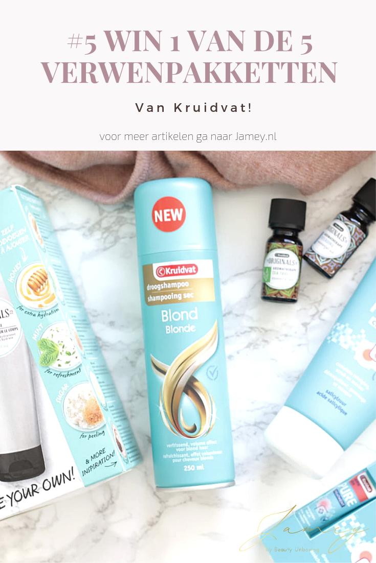 Onlangs ontving ik een pakket met een aantal heerlijke producten van Kruidvat. En omdat wij onze nieuwe site hebben gelanceerd mag ik 5 verwenpakketten van Kruidvat weggeven. Benieuwd hoe jij kans maakt en wat er allemaal in zit? Lees dan snel verder!