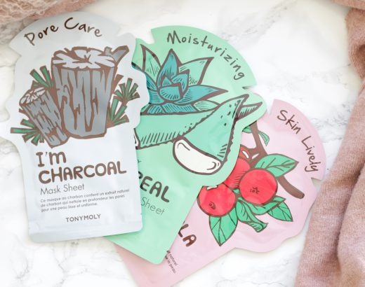 3 x TonyMoly Mask Sheets