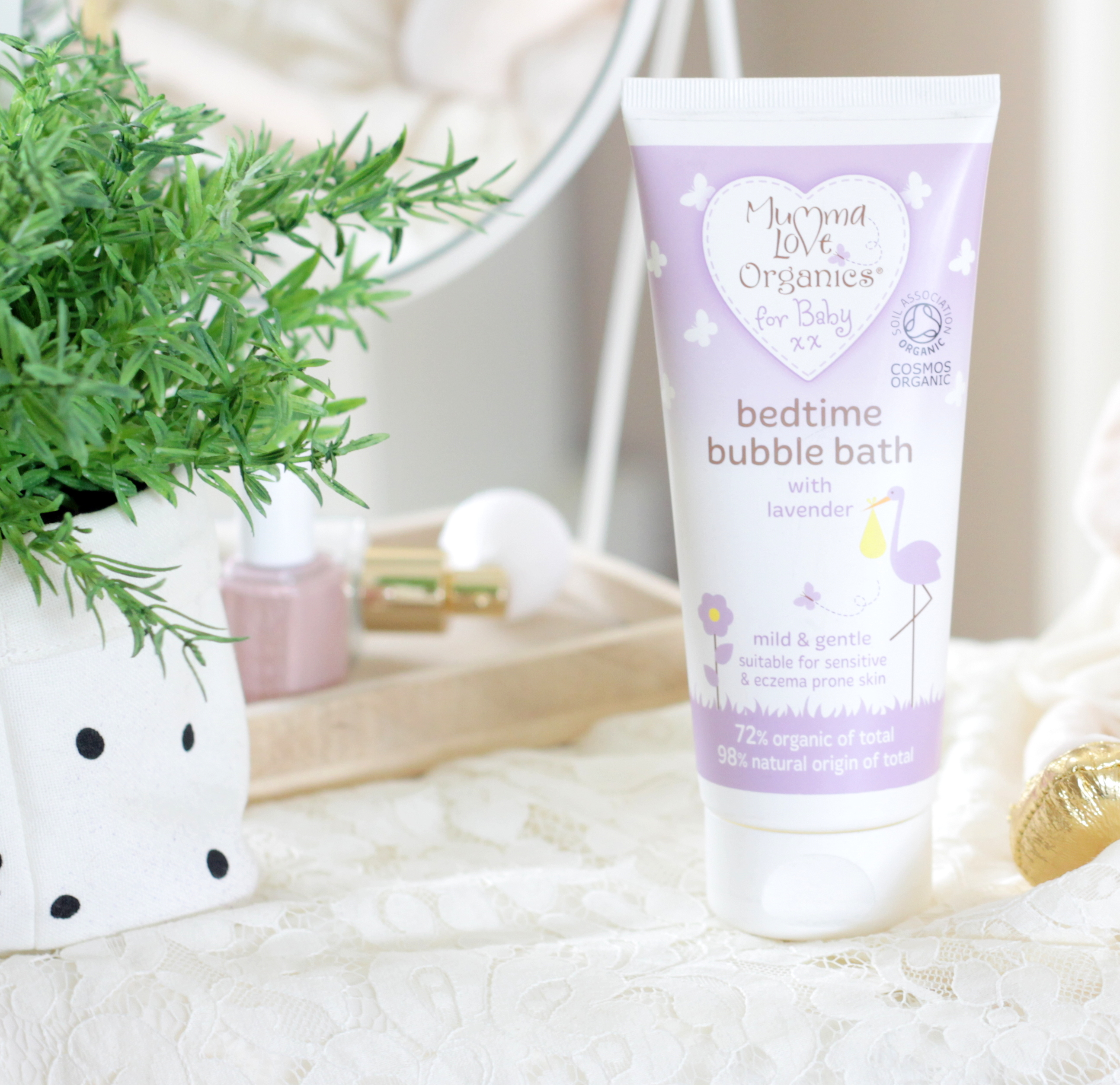 Mumma Love Organics Kids Bedtime Bubble Bath Lavender