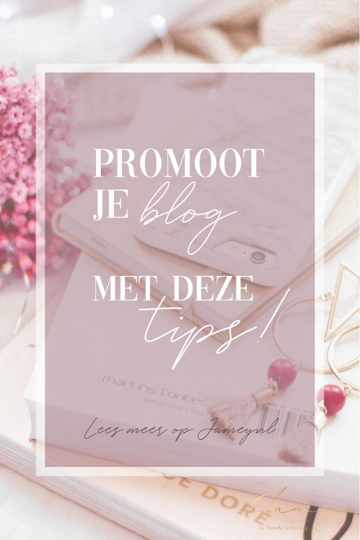 Met deze tips kun jij je blog promoten