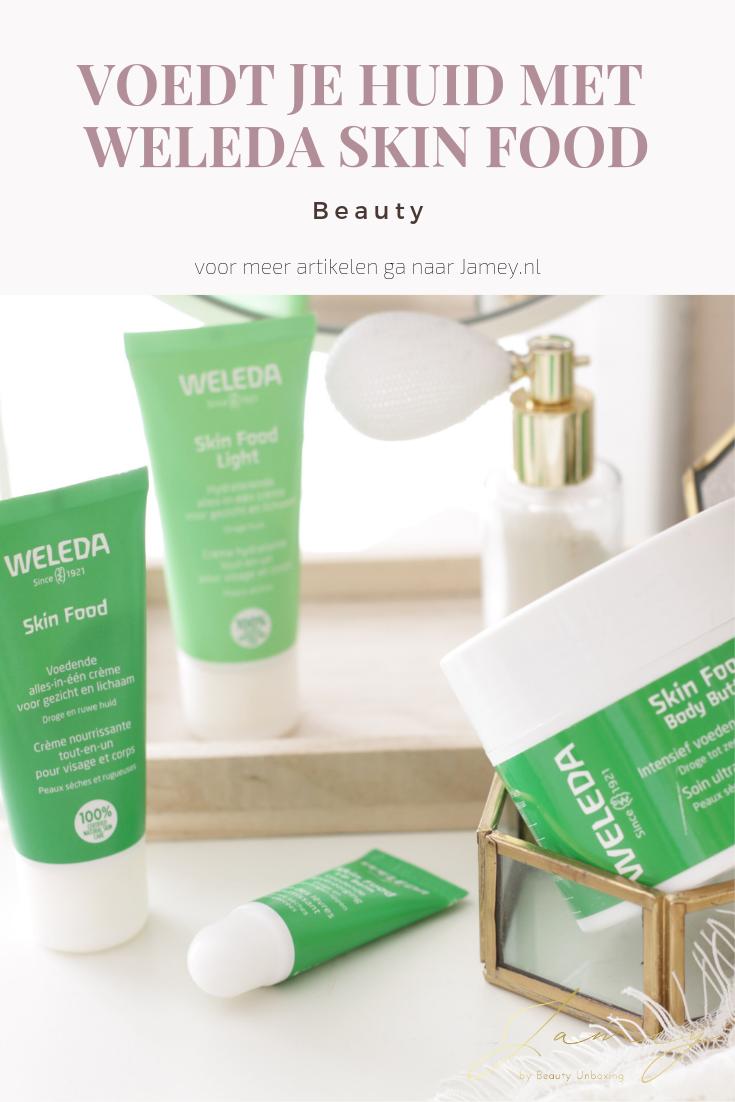 Voedt je huid met Weleda Skin Food