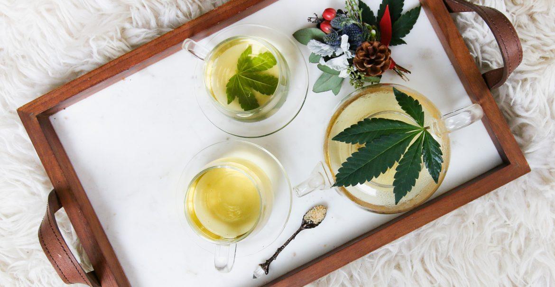 Cannabis olie, daar word je toch stoned van? thee