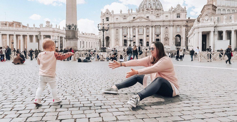 Rome met een peuter