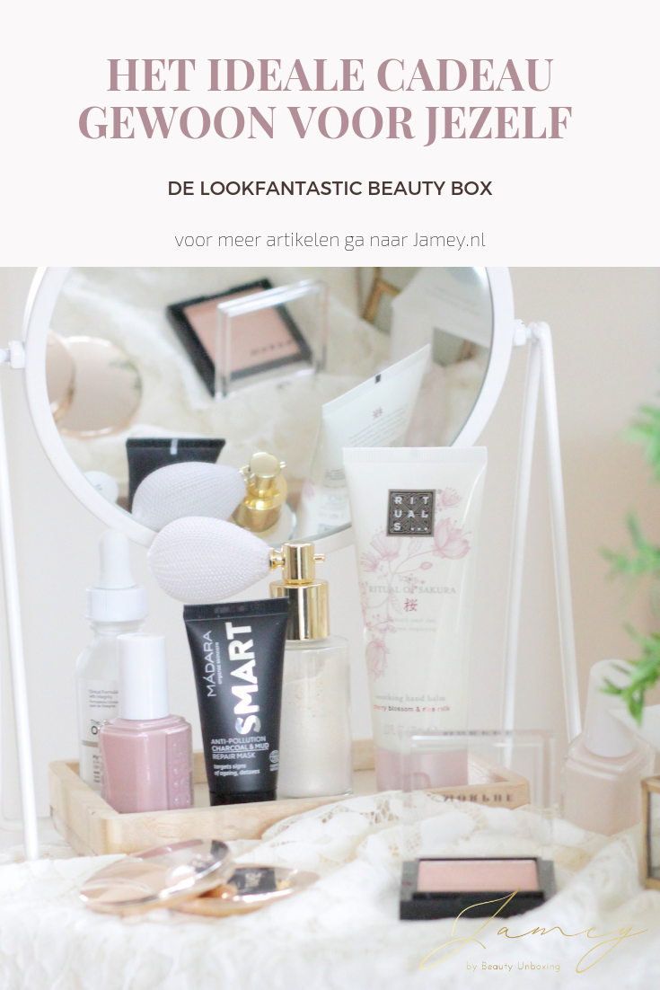 DE LOOKFANTASTIC BEAUTY BOX