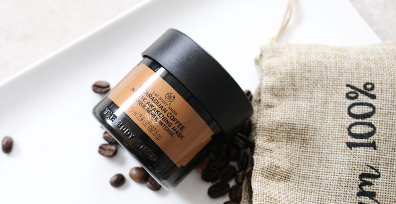 The Body Shop Nicaraguan Coffee Intense Awakening Mask verpakking