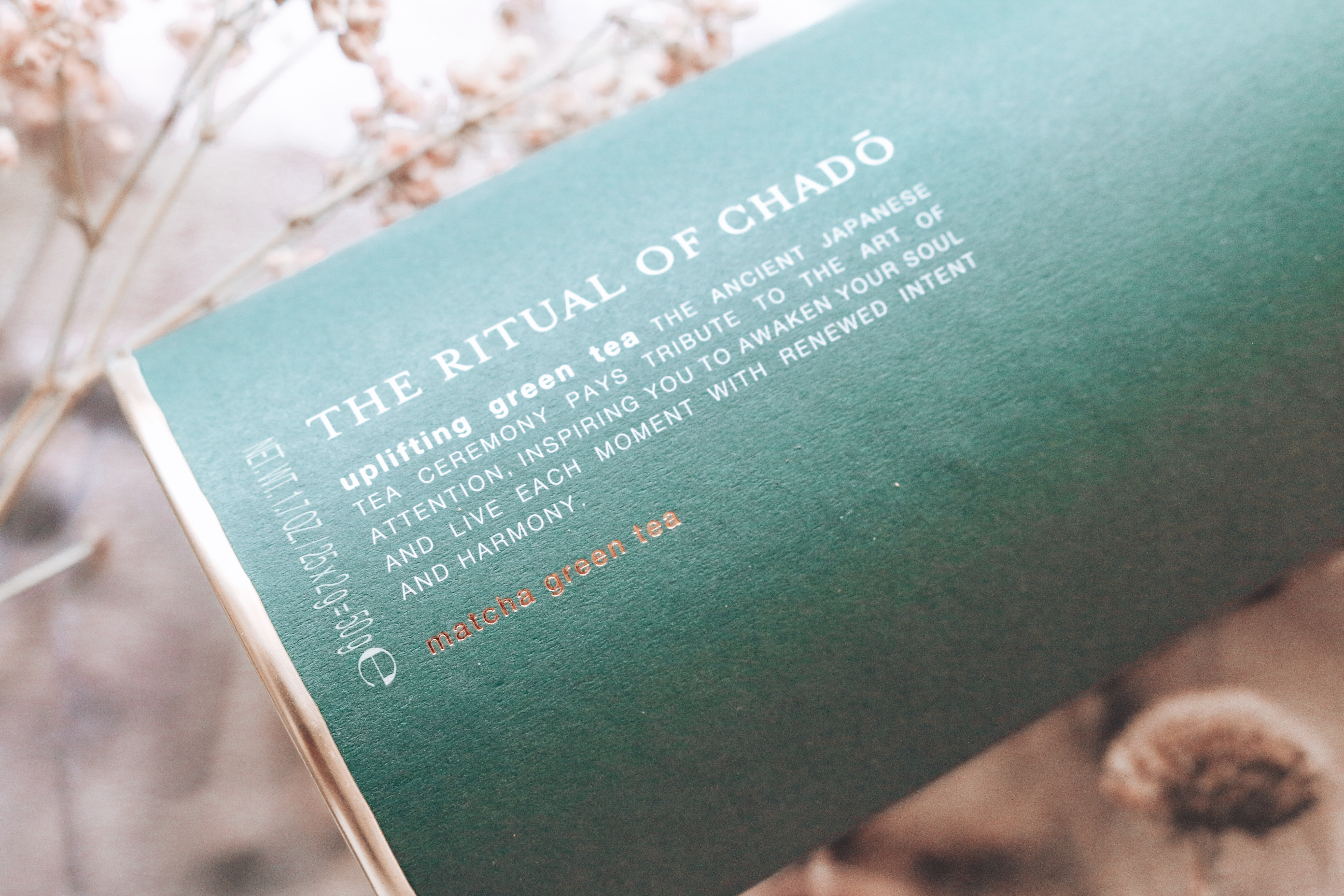 The Ritual of Chado thee verpakking