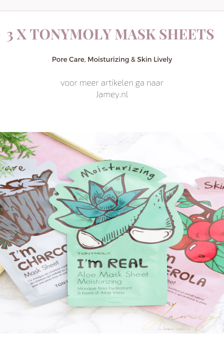 TonyMoly Mask Sheets