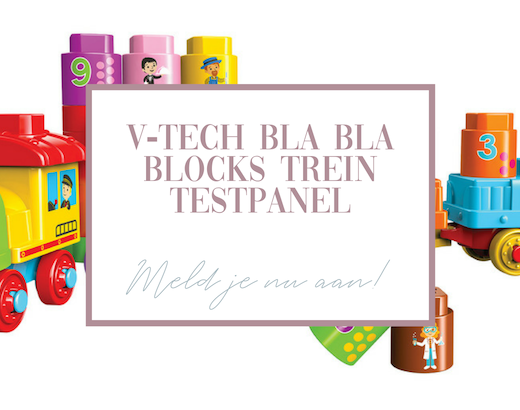 Aanmelden V-tech bla bla blocks testpanel!