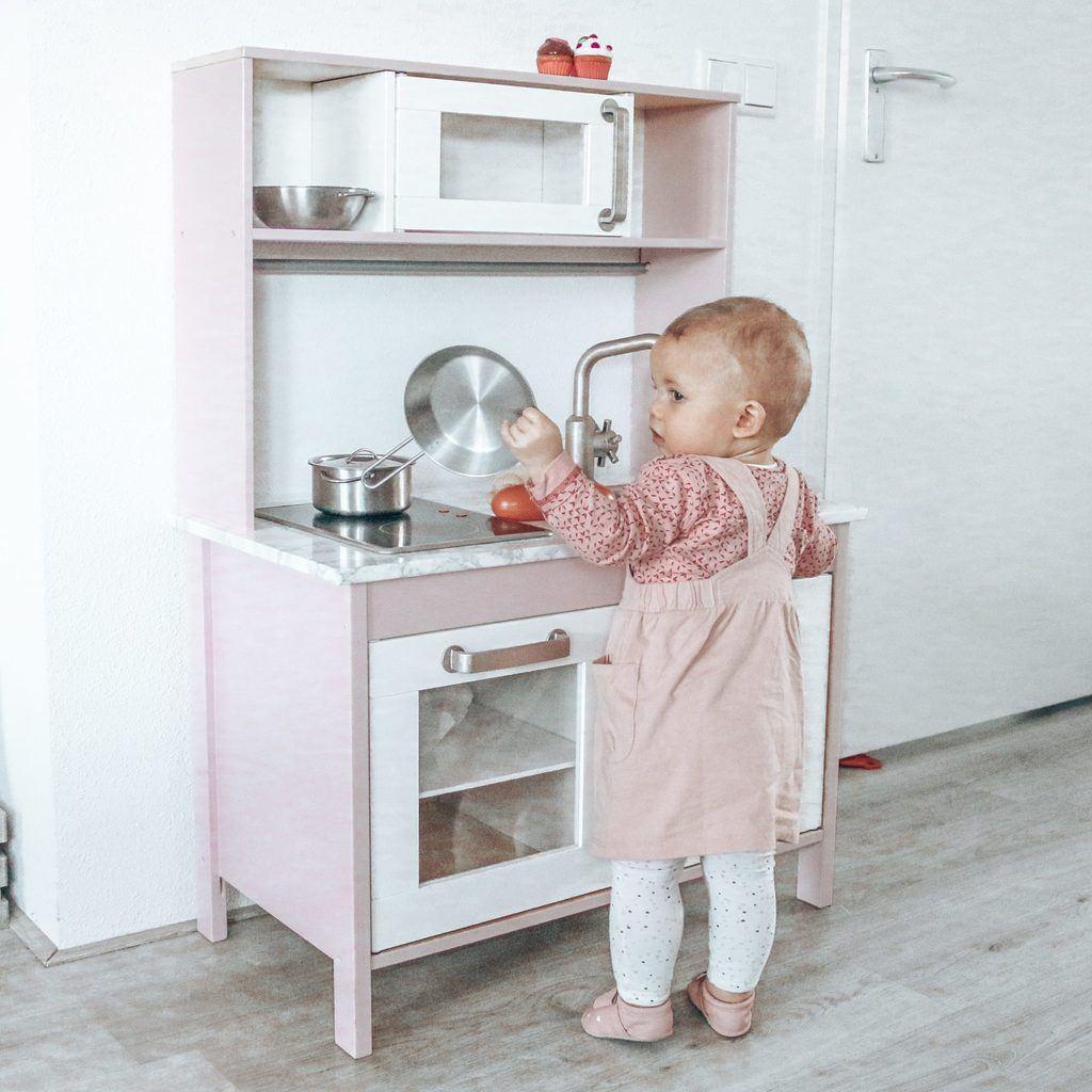 DIY roze Duktig keukentje