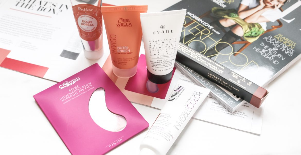 Lookfantastic Urban Beauty - Beautybox mei 2019 inhoud