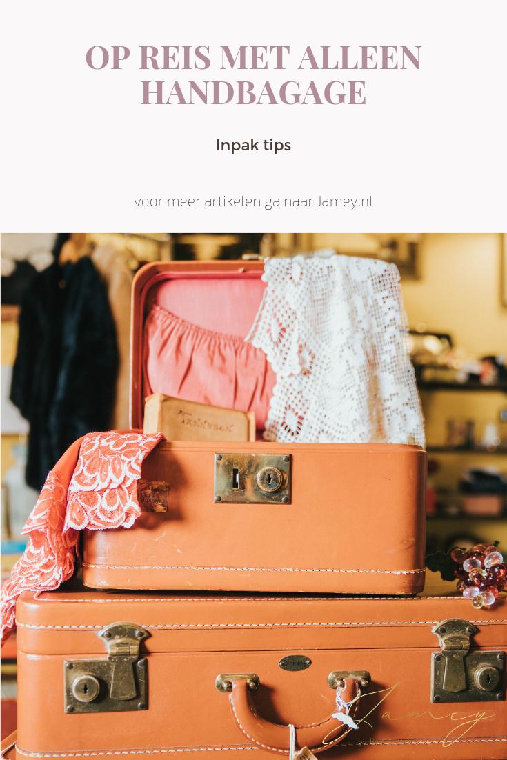 Op reis met alleen handbagage